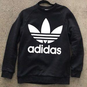Small Adidas oversized crew neck